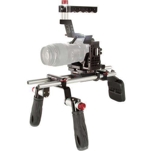 SHAPE DSLR Video Supports & Rigs SHAPE Cage with Offset Shoulder Mount System for Sony a7 II, a7S II, & a7R II