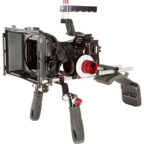 SHAPE DSLR Video Supports & Rigs SHAPE Cinema Cage Kit with Shoulder Mount System for Sony a7 II, a7S II, & a7R II