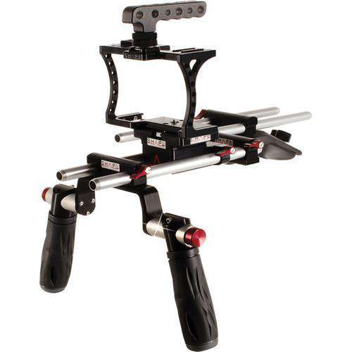 SHAPE DSLR Video Supports & Rigs SHAPE Offset Shoulder Mount Kit for Sony A7s