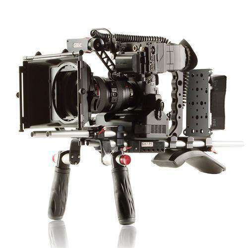 SHAPE DSLR Video Supports & Rigs SHAPE Panasonic GH4 Shoulder Mount Bundle with Gold Mount Battery Plate