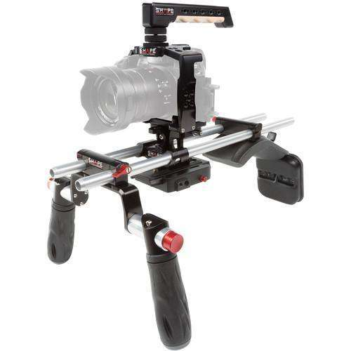 SHAPE DSLR Video Supports & Rigs SHAPE Panasonic GH5 Cage with Shoulder Mount