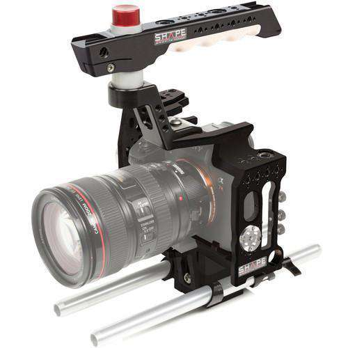 SHAPE DSLR Video Supports & Rigs SHAPE Sony A7R3 Cage 15mm Rod System