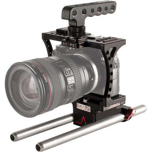 SHAPE DSLR Video Supports & Rigs SHAPE Sony a7S Cage with Kirk Neff Baseplate 2.0