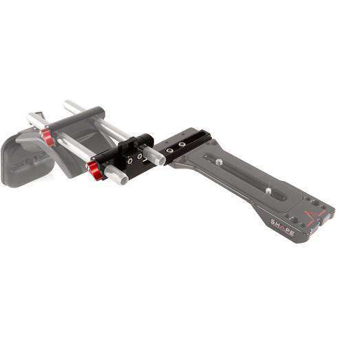 SHAPE Rod Brackets & Clamps SHAPE Offset Bracket for Sony PXW / Canon XF Camcorder Series ENG Baseplate