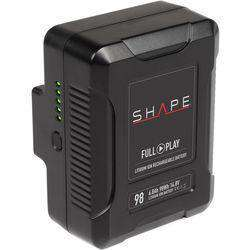 SHAPE SHAPE SHAPE 14.8V 98Wh Rechargeable Lithium-Ion V-Mount Battery