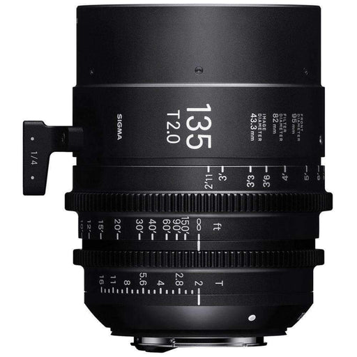 Sigma Digital Cine Lenses Sigma 135mm T2 Fully Luminous FF High Speed Prime Lens (ARRI PL Mount)