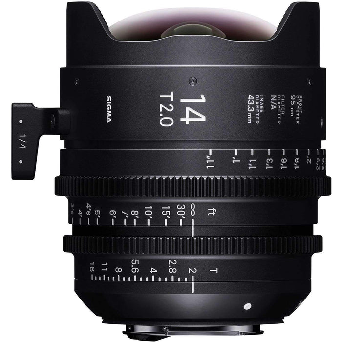Sigma Digital Cine Lenses Sigma 14mm T2.0 FF High-Speed Prime (Sony E Mount)