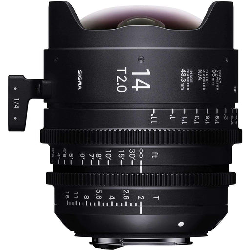 Sigma Digital Cine Lenses Sigma 14mm T2 FF High-Speed Prime (E Mount, Metric)