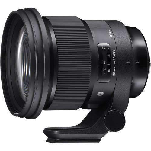 Sigma Sigma Mirrorless Lenses Sigma 105mm f/1.4 DG HSM Art Lens for Sony E