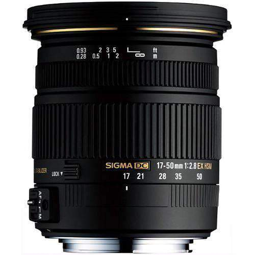 Sigma SLR Lenses Sigma 17-50mm f/2.8 EX DC HSM Zoom Lens for Sony DSLRs with APS-C Sensors