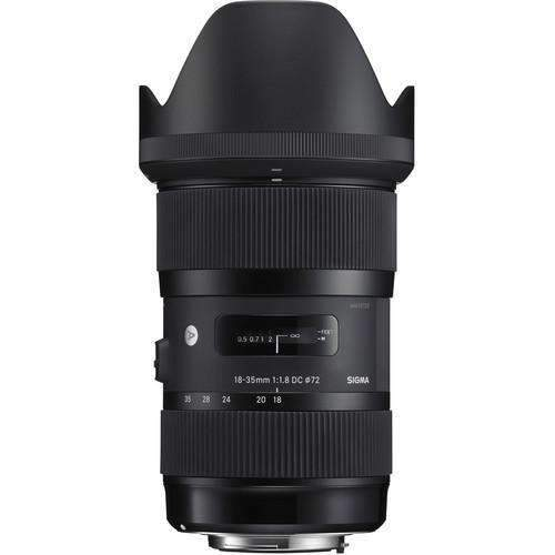Sigma SLR Lenses Sigma 18-35mm f/1.8 DC HSM Art Lens for Sony A