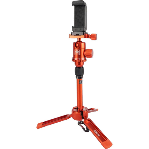 Sirui Grips & Support Sirui 3T-35 Tripod + Mobile Phone Clamp (Red)