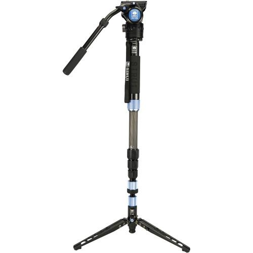 Sirui Monopods Sirui P-324SR Photo/Video Monopod with VH-10X Head
