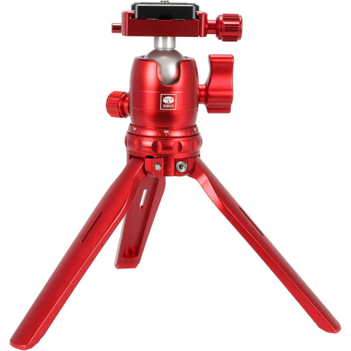 Sirui Sirui 3T-15R Sirui 3T-15 Tabletop Tripod with B-00 Ball Head (Red)