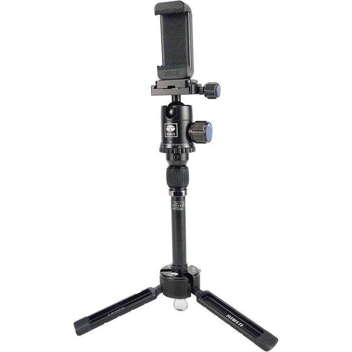Sirui Sirui Sirui 3T-35 Tripod + Mobile Phone Clamp (Black)