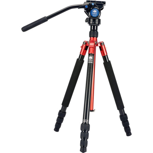 Sirui Tripod Systems Sirui Aluminum Travel Video Tripod Kit (Red)