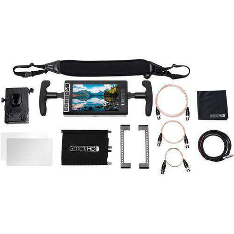 SmallHD 703 UltraBright Directors Kit (Gold-Mount)