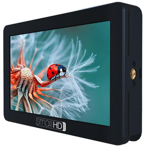 SmallHD Monitors SmallHD FOCUS OLED HDMI Monitor Gimbal Kit with International Charger Power Supply