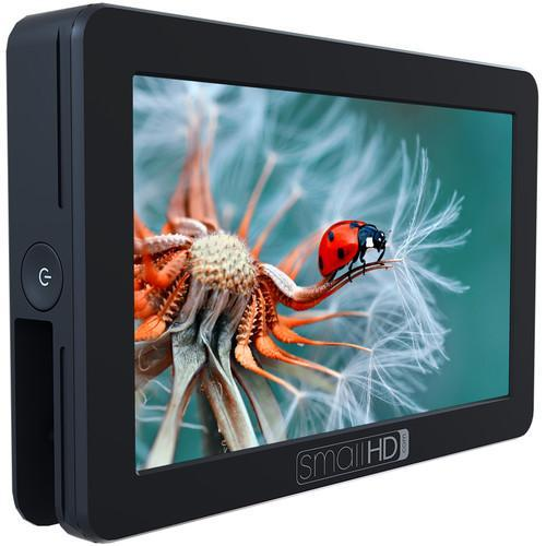SmallHD Monitors SmallHD FOCUS OLED HDMI Monitor NP-FW50 Kit with International Charger Power Supply