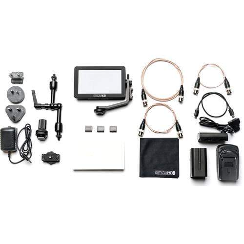 SmallHD Monitors SmallHD FOCUS SDI Monitor Cine Kit with International Charger Power Supply
