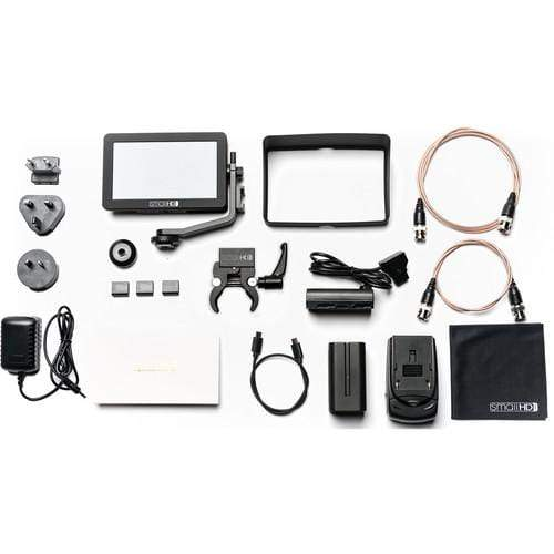 SmallHD Monitors SmallHD FOCUS SDI Monitor Gimbal Kit with International Charger Power Supply