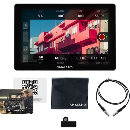 SmallHD On Camera Monitors SmallHD Cine 7 Touchscreen On-Camera Monitor with RED KOMODO Control Kit (L-Series)