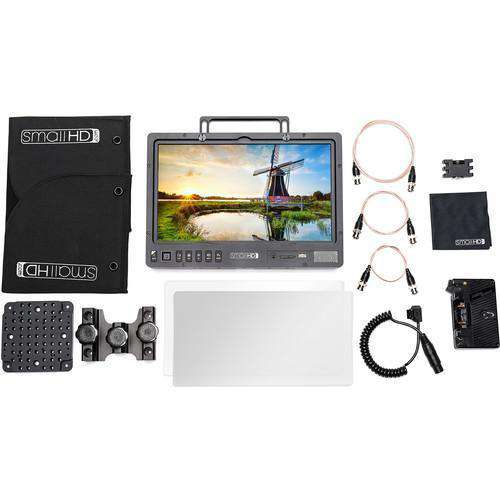 "SmallHD Production Monitors SmallHD 1303 HDR 13"" Production Monitor Gold Mount Kit"