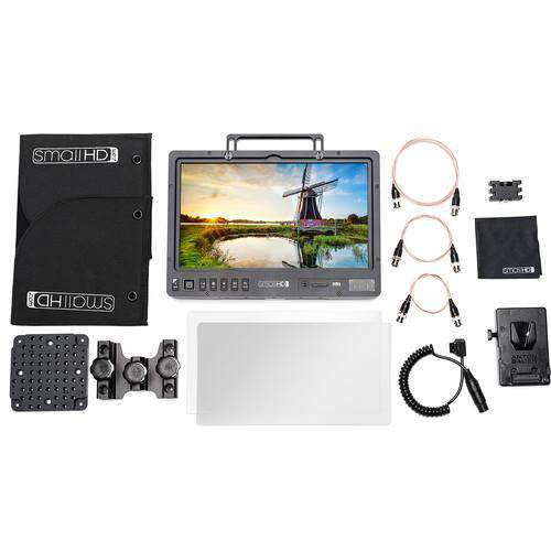 "SmallHD Production Monitors SmallHD 1303 HDR 13"" Production Monitor V-Mount Kit"
