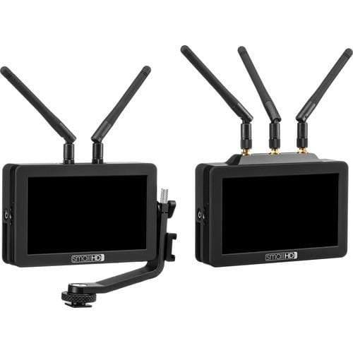 SmallHD Wireless Transmission Systems SmallHD FOCUS Bolt 500 TX-RX Kit with International Charger Power Supply