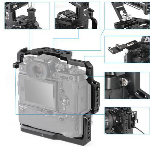 SmallRig Supports & Rigs SmallRig Cage for Fujifilm X-T2 and X-T3 Camera with Battery Grip