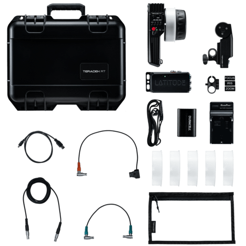 Teradek Teradek Wireless Lens Control Systems Teradek RT - Single-Axis Wireless Lens Control Kit