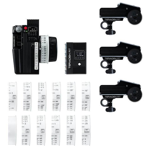 Teradek Wireless Lens Control Systems Teradek RT CTRL.3 Wireless Lens Control Kit 3-Motor)