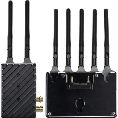 Teradek Wireless Transmission Systems Teradek Bolt 4K LT 1500 3G-SDI/HDMI Wireless RX/TX Deluxe Kit (Gold Mount)