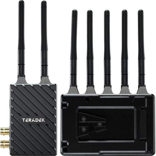 Teradek Wireless Transmission Systems Teradek Bolt 4K LT 1500 3G-SDI/HDMI Wireless RX/TX Deluxe Kit (V-Mount)