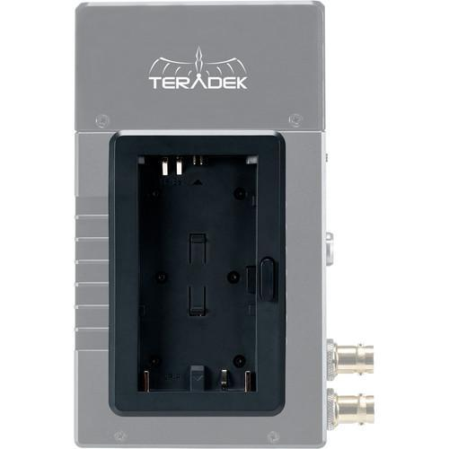 Teradek Battery Plate For Canon LP-E6 Or Sony NP-F550 With 2 Pin Power Cable
