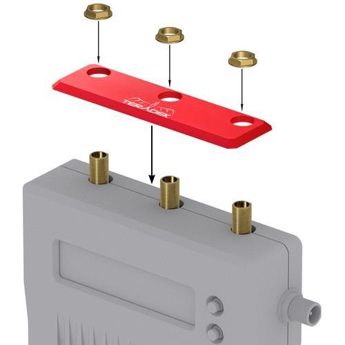Teradek Wireless Transmission Teradek Bolt Accessory Identification Plate for 1000/3000 Receiver (Red)