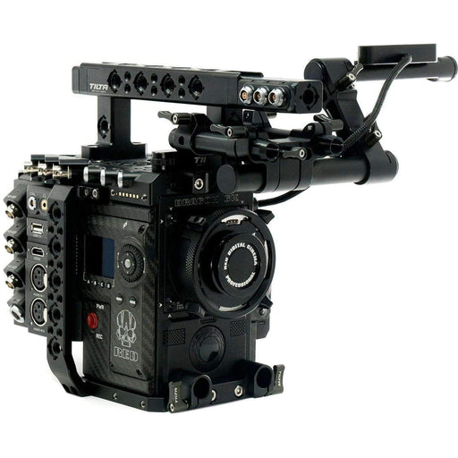 Tilta Camcorder Supports & Rigs Tilta RED DSMC2 Rig with Advanced Tilta I/O Module (Gold Mount)