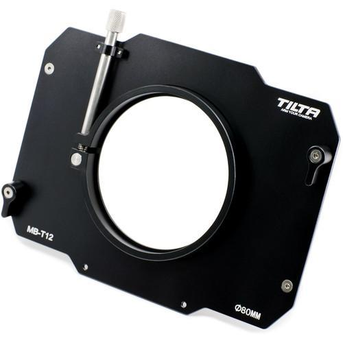 Tilta Matte Box Solutions Tilta 80mm Clamp-On Adapter for MB-T12 Matte Box
