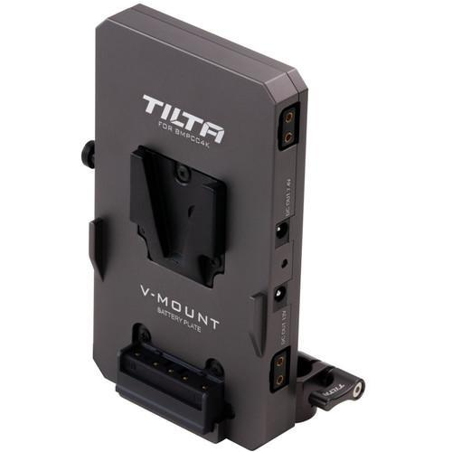Tilta Supports & Rig Components Tilta V-Mount Battery Plate for BMPCC 4K Camera Cage