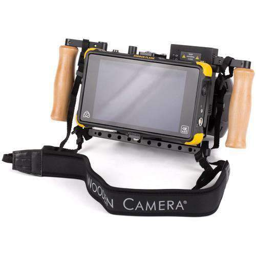 Wooden Camera Director's Monitor Brackets Wooden Camera Director's Monitor Cage v2 with Wooden Grips