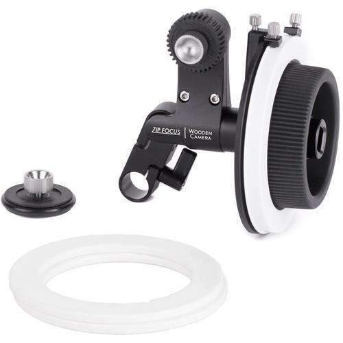 Wooden Camera Follow Focus Systems Wooden Camera Zip Focus Single-Rod Follow Focus (15mm LWS)