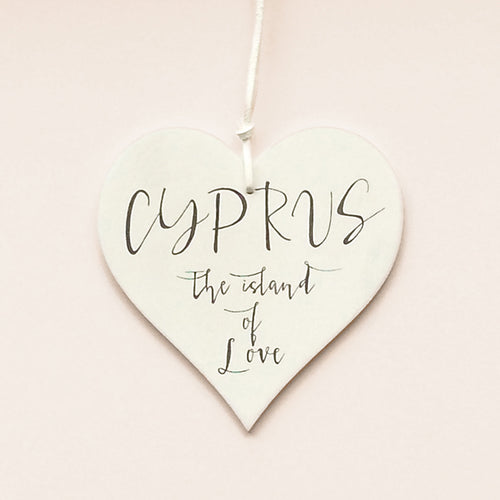 buy Cyprus The Island of Love | Wedding Favor | Can Be Personalized With The Date On The Back for $14.95