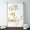 Home decor wall art print