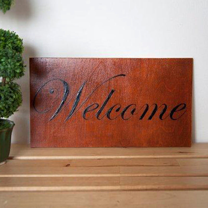 Wood Word Art  - Word Signs Decor