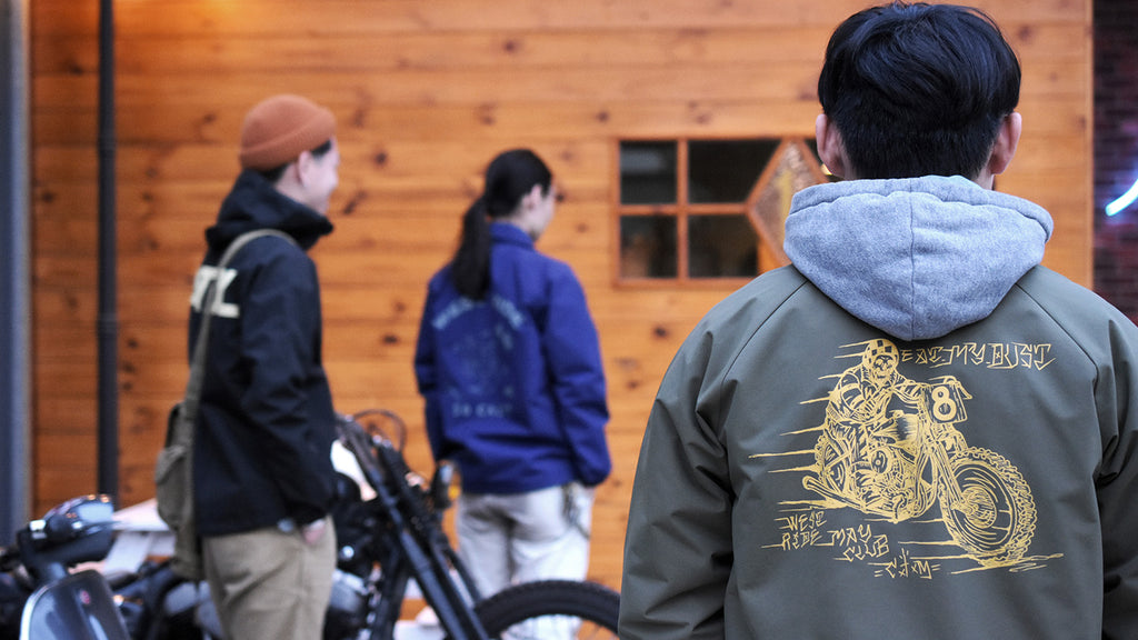 MAY CLUB x WEST RIDE x C.T.M WINDBREAKER JACKET