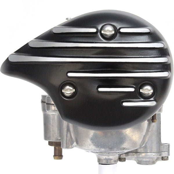 1135 series Tear Drop Carb Cover - BLACK FIN