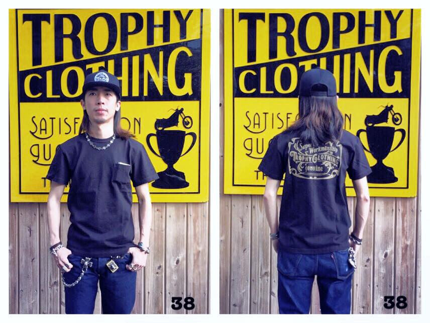 "May club -【Trophy Clothing】""SUPERIOR"" 口袋滾筒短T"