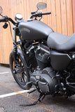 May club -【Fork】1173 Derby Cover for Sportster - 7 FIN BLACK