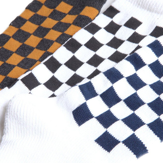 May club -【Trophy Clothing】CHECKER BOOTS SOCKS