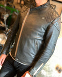 AD-04 Sheepskin Resistance Jacket - Black(茶芯)